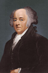 John Adams, U.S. President, Vice President, and Father of the Navy ...